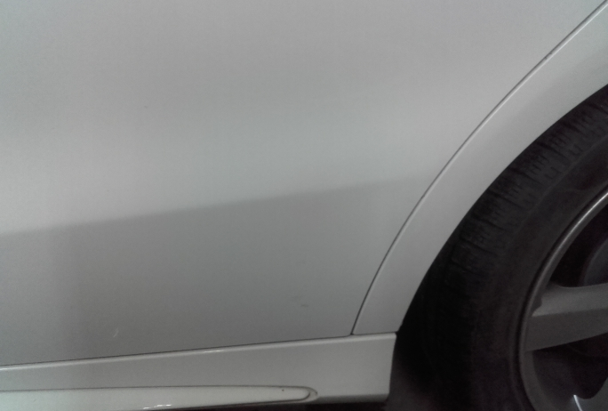Mercedes CLA Bezlakierowo.pl - bzlakierowe usuwanie wgniecen w karoserii samochodowej