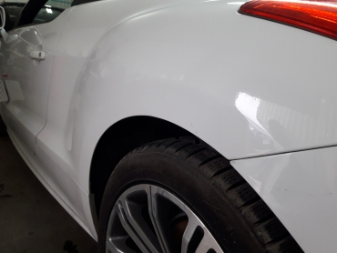 Peugeot RCZ Bezlakierowo.pl - bzlakierowe usuwanie wgniecen w karoserii samochodowej